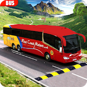 Modern Bus Drive : Hill Station